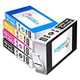10. Icinginks Compatible Cake Ink Color Cartridges Combo Pack for CLI-281/PGI-280 XL's Series with Chip (5 Pack)