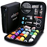 SEWING KIT – a NEEDLE and THREAD KIT for SEWING – Portable Basic...