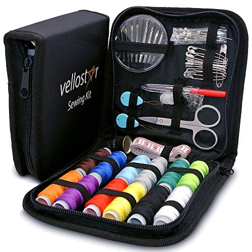 Sewing KIT - New & Upgraded Version, Enhanced Set with Sowing Supplies and Accessories, Mini Travel...