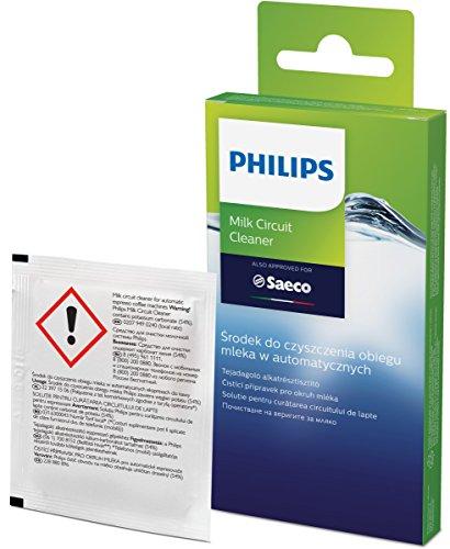 Philips CA6705/10 Milchkreislauf Reiniger, für Philips, Saeco und andere Kaffeevollautomaten, 6 Beutel je 2 g