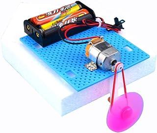 juler Stem DIY Juguete DIY Modelo de Barco eléctrico Mini Speed Boat pequeño invento niños 's Experimento de física Manual de Juguete,Blanco,Un tamaño