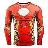 Superhero Compression Shirt Athletic Workout...