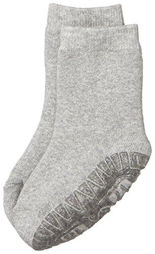 Sterntaler Fliesen Flitzer Soft, Mädchen Socken,Silber (Silber Melange 542), Gr.21/22 (Herstellergröße: 18-24 Monate)