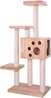 Cat Tower Popular Cat Toy Cat Tree for Large Cat, Cat House with Platform Tower Condo Furniture Cat Tower Cat Scratching P...
