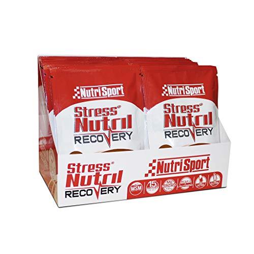 Nutrisport - StressNutril Recovery, Batido para Recuperación Muscular, Sabor Chocolate, 20 Sobres, 20 x 40 gr