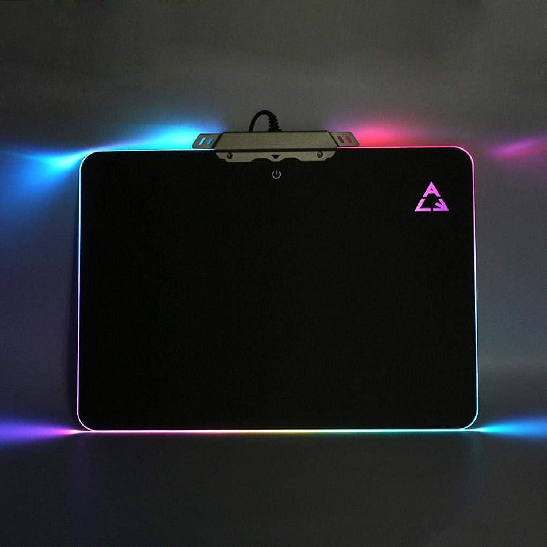 Yongse ACE RGB Backlit LED Mats Hard Mouse Pad für Gaming B07MB5QR31   | Schönes Aussehen