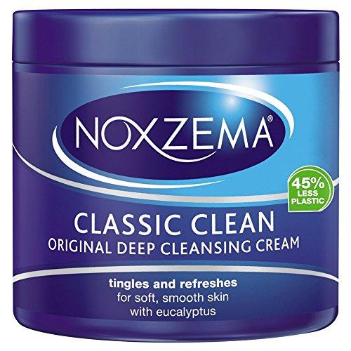 Noxzema Classic Clean Original Crema de limpieza profunda, frasco de 12 oz