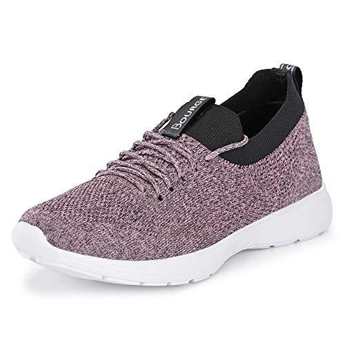 Bourge Women Micam-Z56 Mauve Running Shoes-7 UK (39 EU) (8 US) (Micam-118)