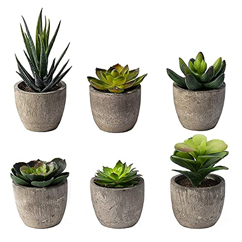 Small Artificial Succulents Plants Artificial Potted...