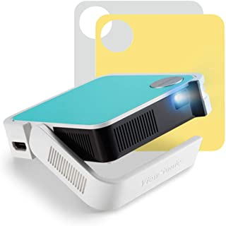 ViewSonic M1 Mini Plus Ultra-Portable LED Pocket Projector for Children's Entertainment with WiFi Bluetooth and JBL Speakers