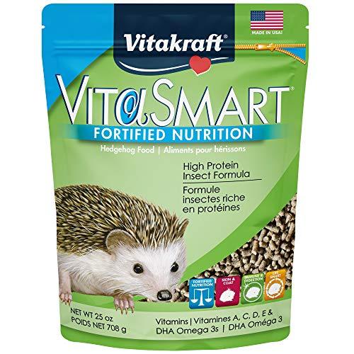 Vitakraft VitaSmart Fortified Nutrition Hedgehog Food, 25 oz, 34792