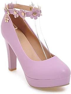BalaMasa Womens APL12247 Pu Heeled Sandals