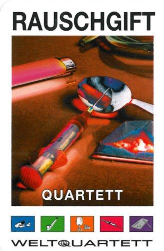 Cargo Records Familie von quast - Quartett Spiel Rauschgift - das ultimative Kartenspiel mit 32 Blatt