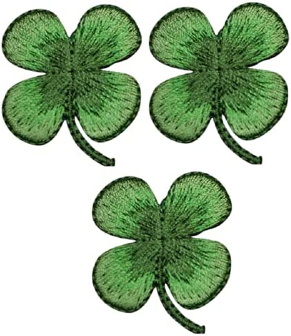 Four Leaf Clover A surprise price is realized Iron Bargain On Applique 1. Shamrock Patch Luck - Good