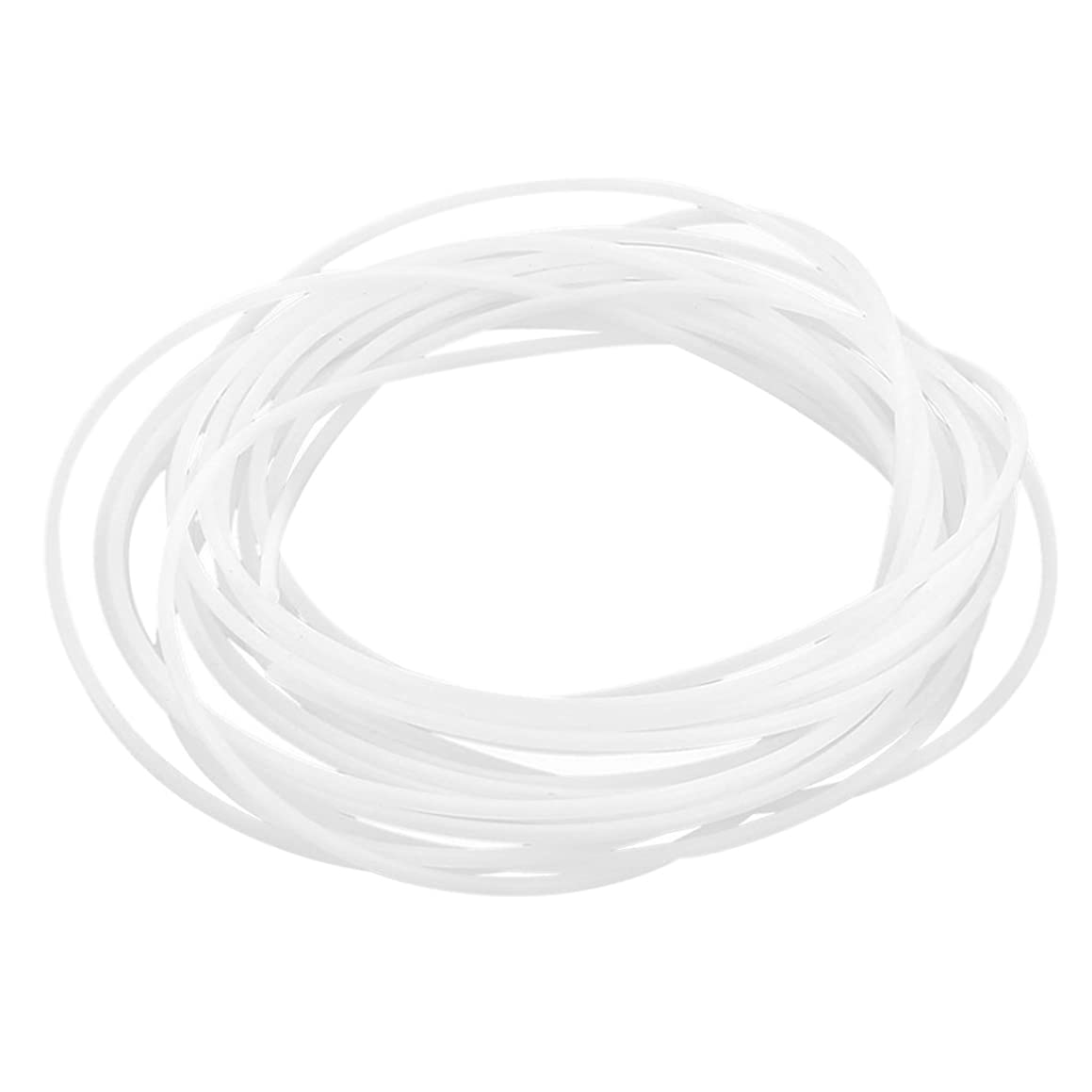 SODIAL 5 meters 3 mm ID 4mm OD PTFE tubing Hose line for 3D printing white