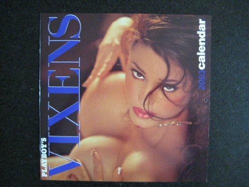 Playboy's Vixens 2003 Wall Calendar