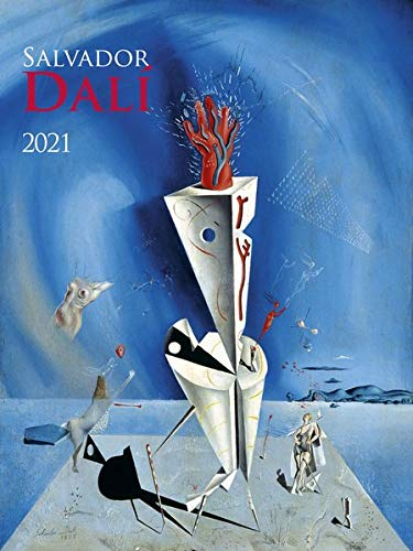 Salvador Dali 2021 - Bild-Kalender 42x56 cm - Kunst-Kalender - Wand-Kalender - Malerei - Alpha Edition