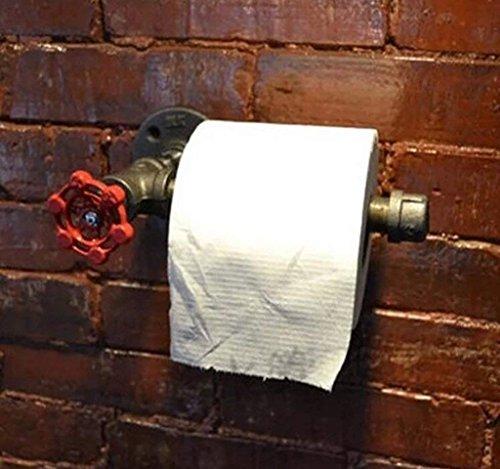 WTT Retro Toiletpapierhouder, toiletpapier voor in de badkamer, toilet, retro