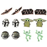 The Mandalorian The Child Multi Stud Earring Gift Set