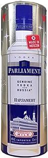 Vodka Parliament 360° Metallbox 0,7L russischer Wodka milchgereinigt Geschenkset
