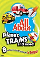 All About Planes Trains & More [DVD]