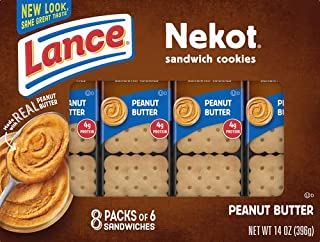 Lance Sandwich Cracker, Nekot, 14 oz