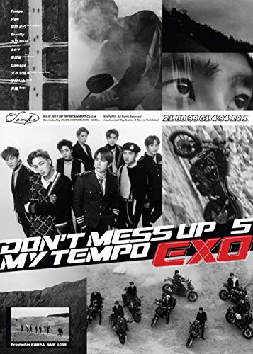 EXO The 5th Album 'DON'T MESS UP MY TEMPO' (Allegro Ver.)