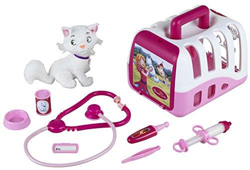 Klein - 4821 - Jeu d'imitation - Mallette vétérinaire Princess Coralie avec peluche et accessoires