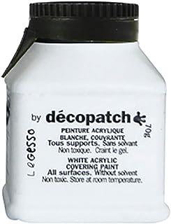 Décopatch GE70AO - Un flacon de Gesso 70g, peinture acrylique blanche