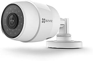 EZVIZ C3C 720p HD Cámara de tipo bala WI-FI Exterior con visión nocturna Impermeable Distancia focal 2.8mm Blanca