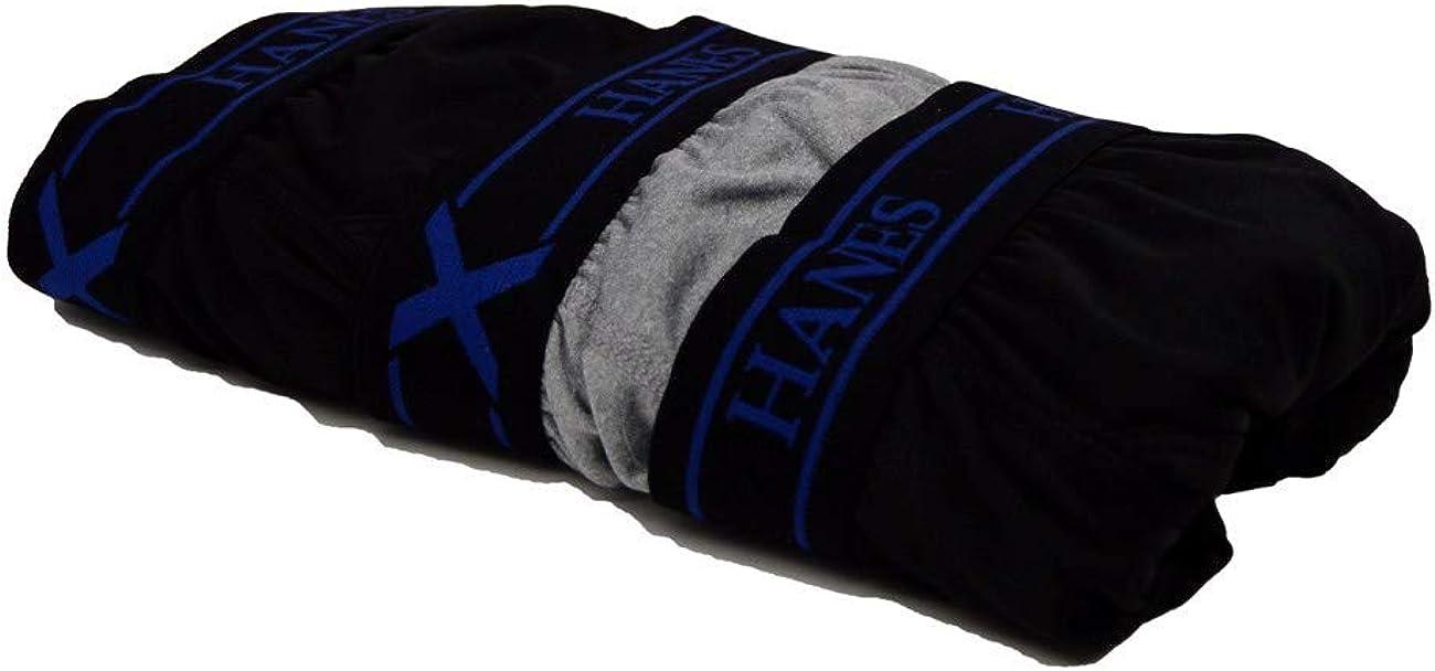 Hanes Men's Tagless Boxer Briefs 3-Pack Platinum X-Temp Fresh IQ Size S, M Assorted Colors