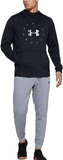 Armour Fleece Pullover Hoodie Circle Wordmark