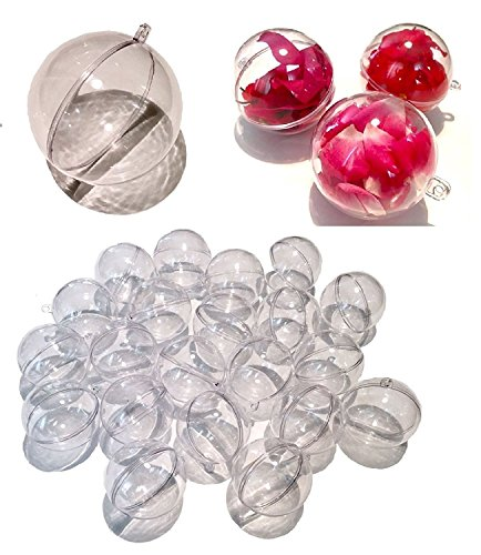 40 mm qualit/é photographique Kugels Boules de verre transparente sans stries