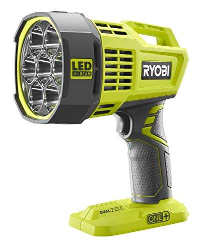 Ryobi R18SPL-0 One Plus inalámbrico LED Spot Light, 18 V, Verde Hyper