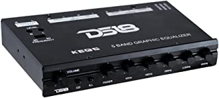 DS18 DS-KEQ5 DS18 Five Band Graphic Equalizer Six Channel/Five Volt RCA Subwoofer Level Control