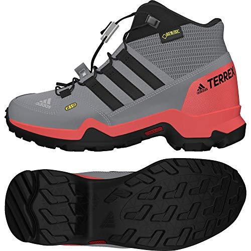 Adidas Terrex Mid GTX K, Botas de Senderismo Unisex niño, Gris (Gritre/Gritre/Carbon 000), 37 1/3 EU