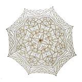 TopTie Paraguas de encaje Parasol Boda Nupcial fotografa para la Decoracin de Disfraces de Halloween Accesorios