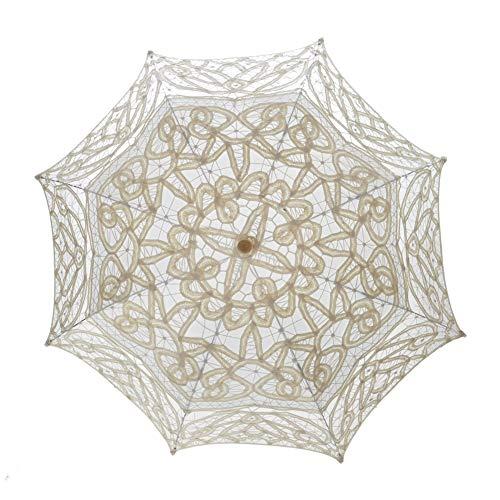 TopTie Paraguas de encaje Parasol Boda Nupcial fotografía para la Decoración de...