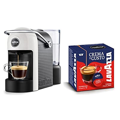 Lavazza Jolie Freestanding semi-automática Coffee Machine in Capsules 0.6L 1tazas Black, White – Coffee (Freestanding, Coffee Machine in Capsules, 0.6 l, Coffee Capsule, 1250 W, Black, White)