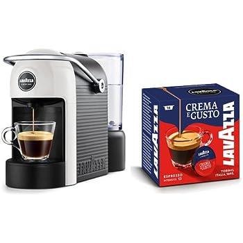 Lavazza Jolie Independiente Máquina de café en cápsulas 0,6 L Semi- automática - Cafetera (Independiente, Máquina de café en cápsulas, 0,6 L, Cápsula de café, 1250 W, Negro, Blanco): Amazon.es: Hogar