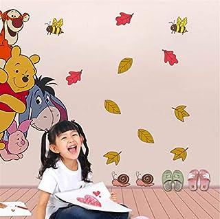 Kids Furniture Decor Storage Baby Nursery Custom Name Vinyl Home Decor Name Winnie The Pooh Wall Sticker For Home Cartoon Cute Wall Sticker 58x34cm Kids Room Decor Kids Furniture Decor