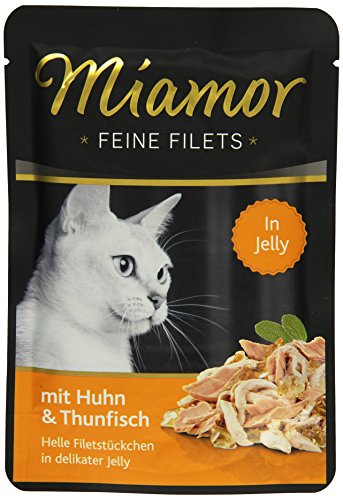 Miamor Feine Filets in Jelly Huhn & Thun 24x100g