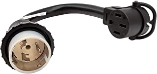 Parkworld 886399 Shore Power 50A Adapter Cord SS2-50P to RV & EV 14-50R 1.5FT