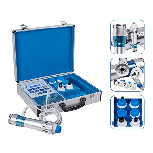 Shockwave Therapy Machine, Electromagnetic Extracorporeal Shock Wave Device Deep Muscle Relax Massager for Pain Removal, Erectile Dysfunction/ED Treatment, Anti-Cellulite - Shipping from US