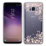 [Breeze-正規品] iPhone ・ スマホケース ポリカーボネイト [透明-Pink] Samsung Galaxy S8 ケ……
