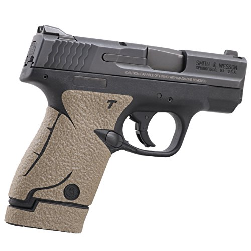 TALON Grips for Smith & Wesson M&P Shield Moss Rubber - 705R W/Two Ext Mag Grips 737 Moss
