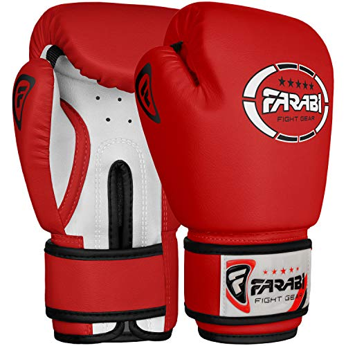 Kinder-Boxhandschuhe, Junior Rosa 4 oz Trainings Kickbox Muay Thai Tasche Pad Punching Mitt Paar