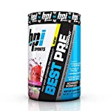 BPI Sports Ketogenic Pre-Workout Supplement - Best Pre-Workout - Carb-Free - Burns Fat for Energy - Helps Preserve Lean Muscle Mass - Improved Focus - Watermelon Ice - 30 Servings - 11.11 oz.