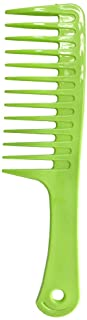 NuAngela Wide Tooth Comb Detangling Smoothing Hair Comb For Women, Curly Thick Long Hair Care, Large Styling Paddle Brush,...