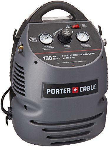 PORTER-CABLE CMB15 (1.5 Gallon) Oil-Free Fully Shrouded